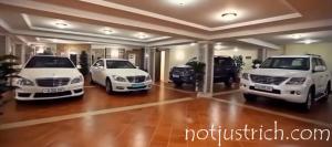 Alisher Usmanov  cars