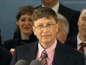 Bil Gates photo speech