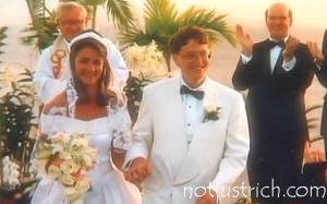 Bill Melinda Gates wedding picture
