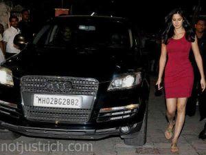 Katrina Kaif car audi q3