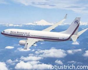 Mukesh Ambani Boeing Business Jet