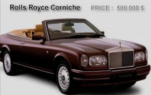 Roman Abramovich car Rolls Royce Chronicle car