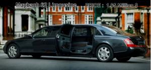 Roman Abramovich car maybach limousine