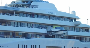 Roman Abramovich yacht eclipse pictures