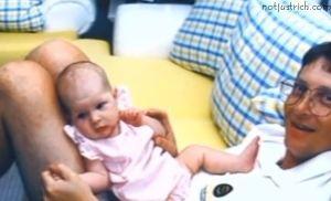 bill gates daughter Jennifer childhood pictures