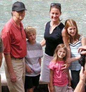 bill gates family children wife