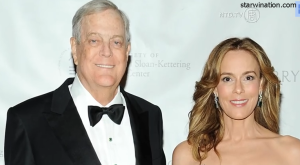 david koch wife Julia M. Flesher