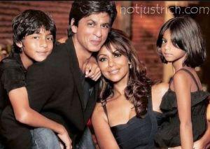 shahrukh wife children