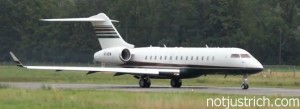 Amancio ortega jet Global Express BD700 a