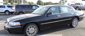 warren buffett car Lincoln Town Car