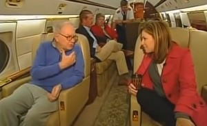 warren buffett jet