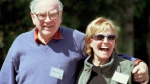 warren buffett wife susan thompson photo