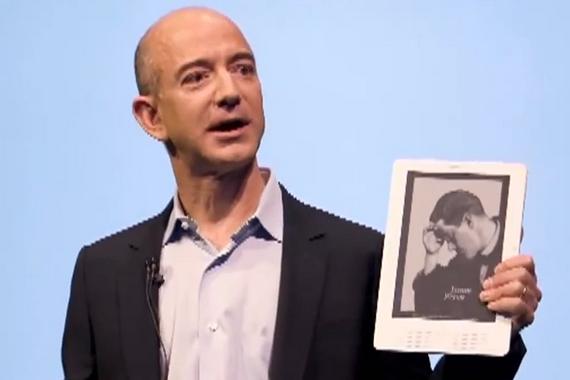 Jeff Bezos Kindle