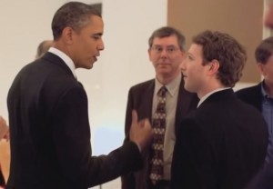 Mark Zuckerberg obama