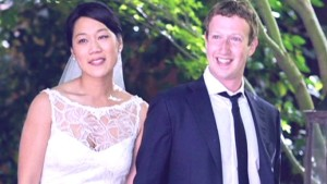 Mark Zuckerberg wedding wife priscilla chan