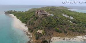 Moskito Island richard branson picture