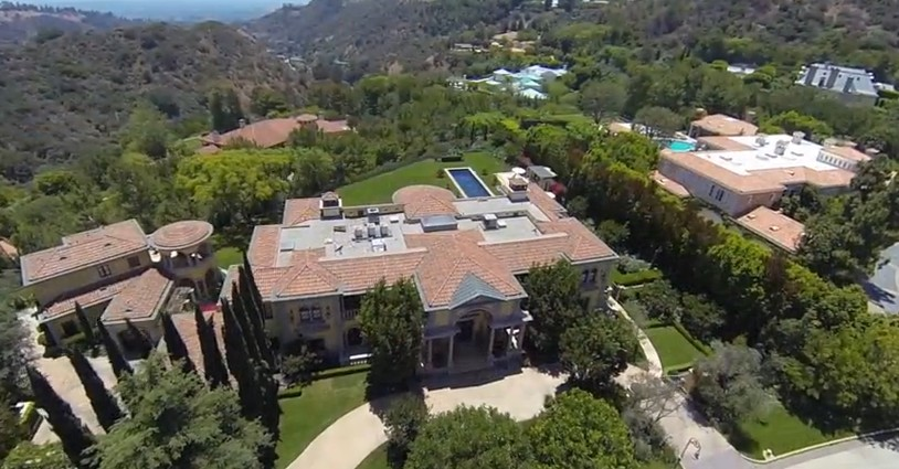 He has a sprawling mansion in beverly park beverly hills in