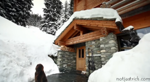 The Lodge Verbier richard branson vacation home