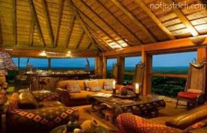 Ulusaba Safari Lodge richard branson home