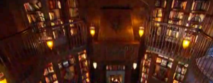 dan brown house library