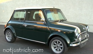 richard branson car Morris Mini-Minor