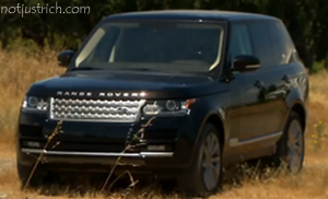 richard branson car range rover
