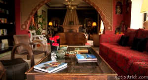 richard branson house interiors Kasbah Tamadot