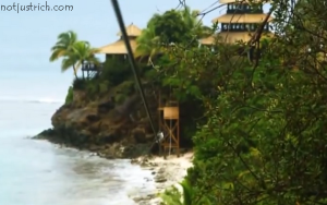 richard branson island home photo