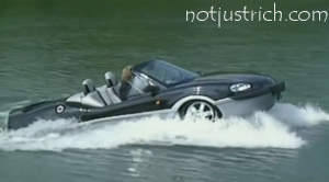 richard branson sports water car