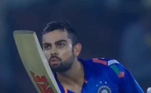 virat kohli kissing anushka sharma cricket match