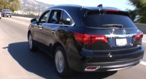 Acura MDX chris hemsworth car