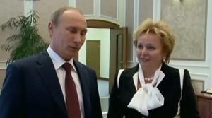 Vladimir Putin wife Lyudmila Shkrebneva