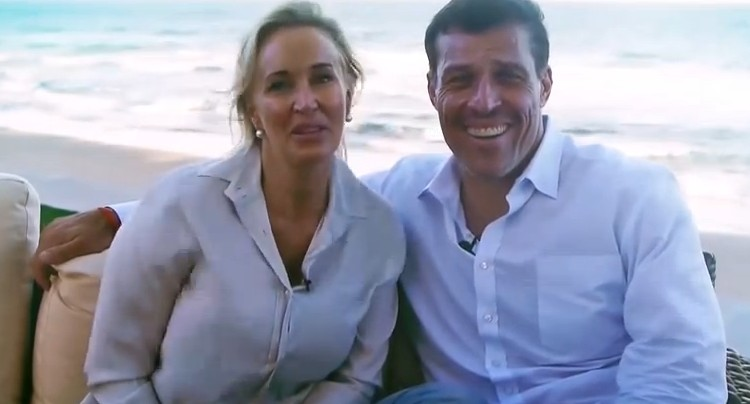 how did tony robbins meet sage