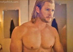 chris hemsworth body thor