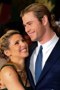 chris hemsworth wife elsa pataky photo