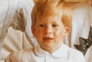 prince harry childhood baby picture