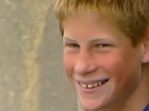 prince harry teenage
