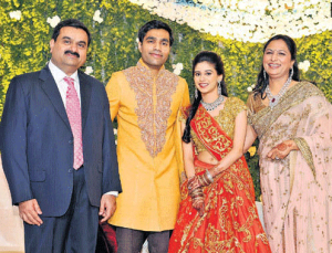 adani wife wedding