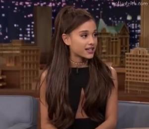 Ariana Grande hairstyle