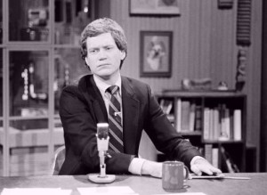 David Letterman young