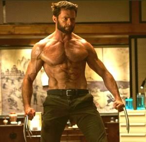 Hugh Jackman Wolverine body