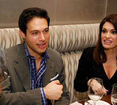 Eric Villency with her former wife Kimberly Guilfoyle