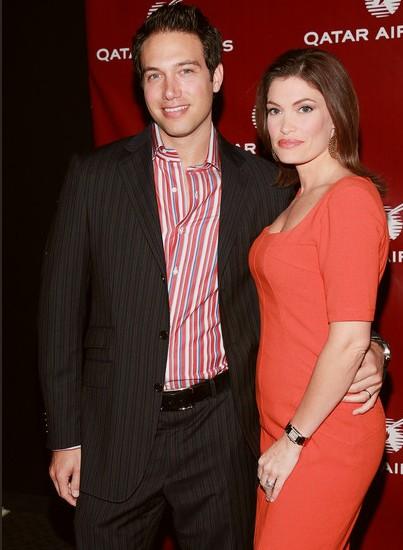 Kimberly Guilfoyle with her second husband Eric Villency