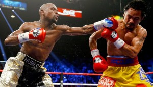 Manny Pacquiaovs vs Floyd Mayweather fight