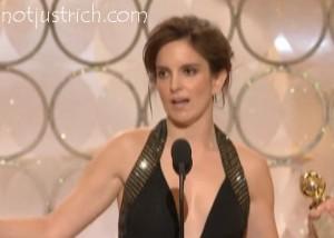 Tina Fey award Golden Globes