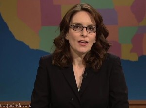 Tina Fey glasses