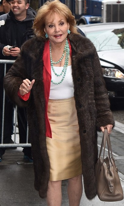 barbara walters latest picture