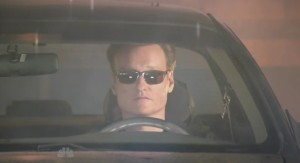 conan o' brien car Ford Taurus SHO