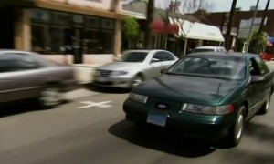 conan o' brien car ford taurus SHO picture