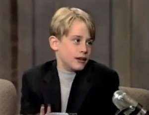 david letterman macaulay culkin
